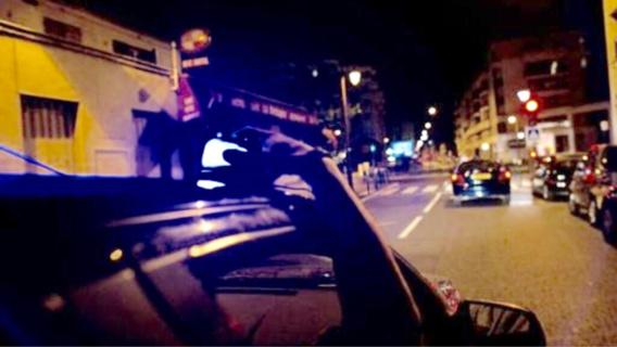 La voiture volée a été rapidement repérée par les policiers (Illustration)