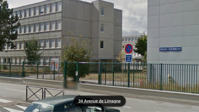 MAUREPAS. Le collège Louis-Pargaud (Illustration@Google Maps)