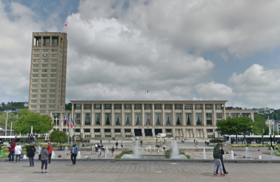 Hôtel de ville du Havre (Illustration@Google Maps)