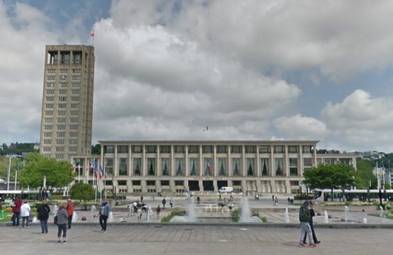 Hôtel de ville du Havre (Illustration@Google Maps)