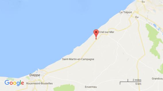 Un habitant de Criel-sur-Mer grièvement blessé ce matin dans un face-à-face avec un semi-remorque