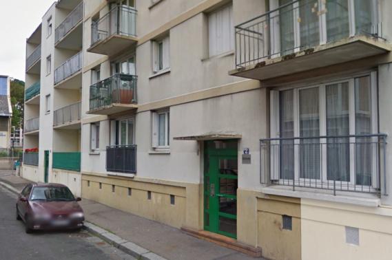 Le drame s'est noué dans un appartement du rez-de-chaussée de cet immeuble de 4 étages, rue Sainte-Beuve, dans le quartier de Graville (Illustration@Google Maps)