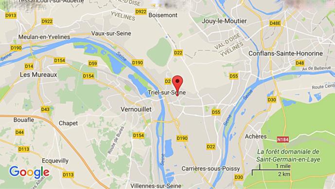 Triel-sur-Seine : un homme découvert mort noyé dans sa piscine