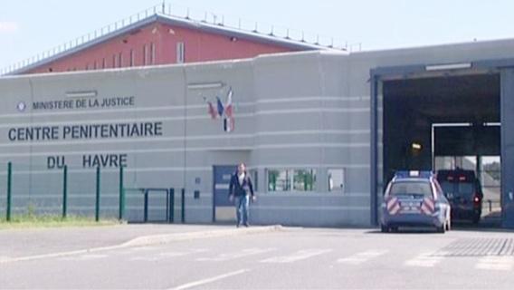 Condamné à 10 mois de prison ferme, le jeune Havrais a été incarcéré au centre pénitentiaire du Havre (Illustration)