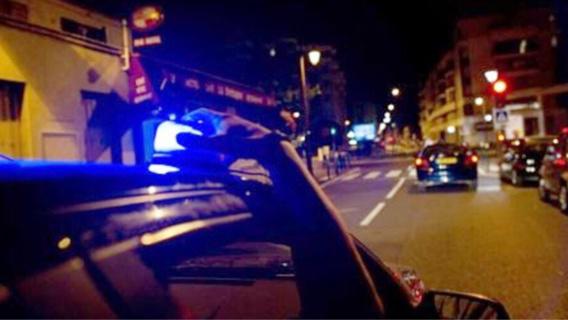 Les policiers ont dû renoncer à un moment à poursuivre le fuyard qui prenait de gros risques pour leur échapper (illustration)