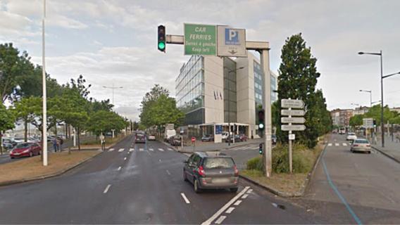 Le drame s'est produit quai Colbert au niveau du cours Lafayette (Illustration@Google Maps)