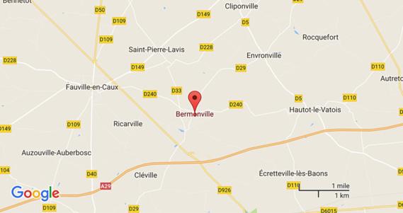 Un motard grièvement blessé dans une collision avec un tracteur près de Fauville-en-Caux