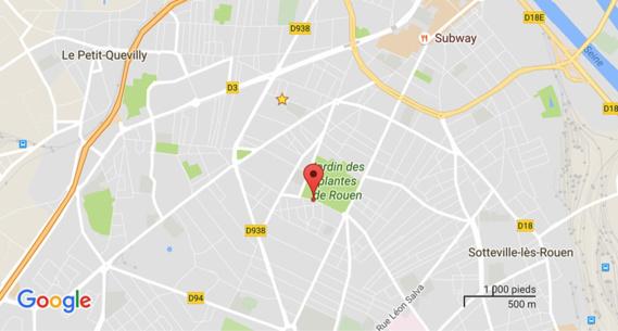 Rouen : il met le feu dans sa chambre pour en finir avec la vie et attend les pompiers sur son balcon