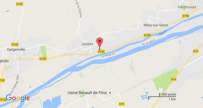 Yvelines : le cadavre d'un homme de 85 ans découvert en contrebas d'un talus à Juziers