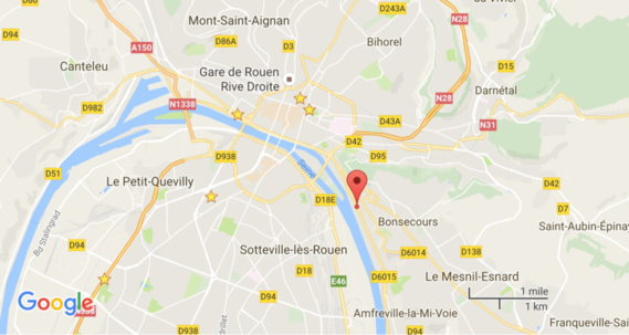 A Bonsecours, un camion percute une clôture : le chauffeur aurait été victime d'un malaise