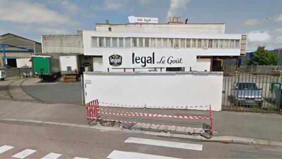 Incendie dans une gaine de ventilation chez Legal au Havre : l'usine évacuée