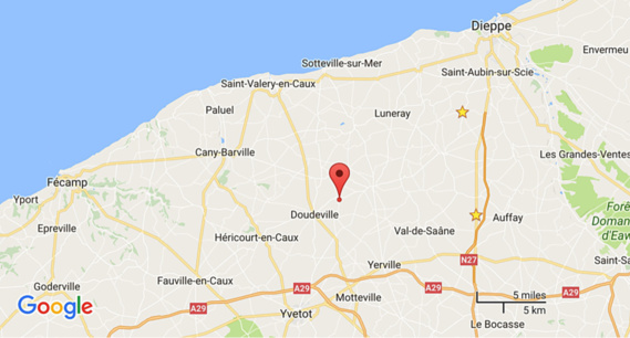 Seine-Maritime : deux blessés dans un accident de la route près de Doudeville