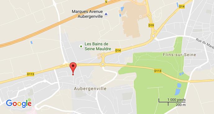 Feu de grange à Aubergenville : cinq personnes évacuées ce matin