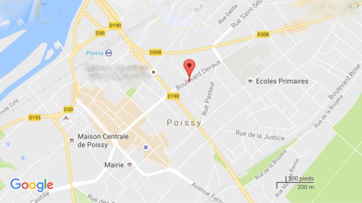Le drame s'est produit boulevard Devaux dans le centre ville