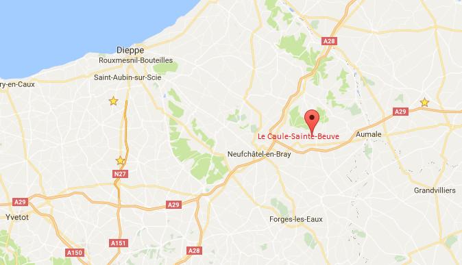 Un bâtiment de stockage détruit par un incendie dans le pays de Bray