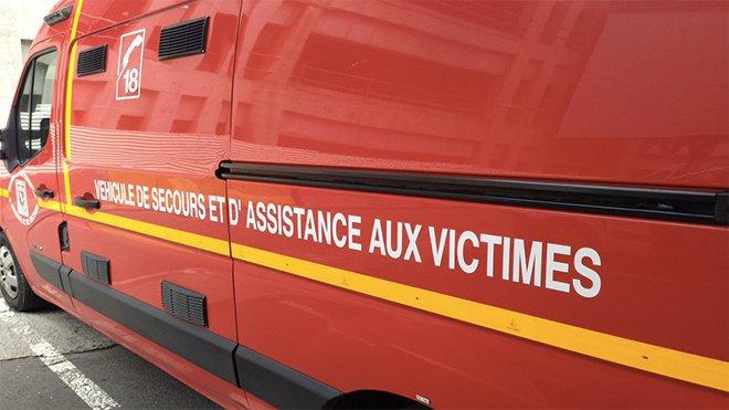 L'octogénaire est décédé dans l'ambulance des sapeurs-pompiers, sans avoir pu être transporté à l'hôpital (Illustration)