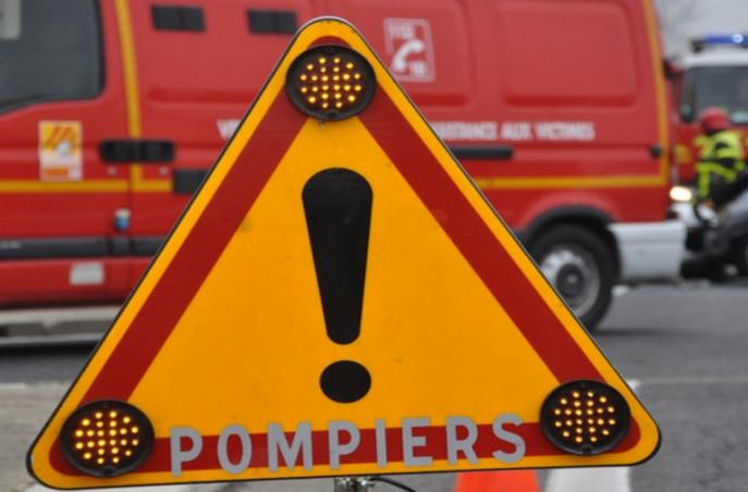 La conductrice a été désincarcérée par les sapeurs-pompiers (Illustration)
