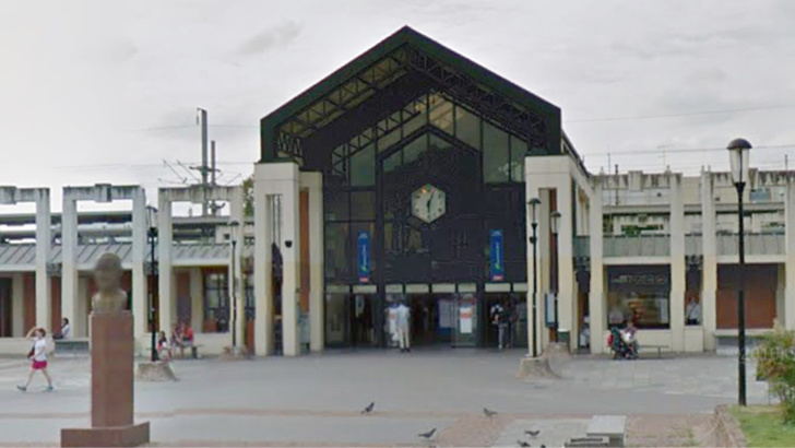 La gare de Poissy (illustration@Google Maps)