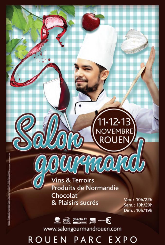 200 producteurs et artisans au Salon Gourmand ...et un invité d'honneur, Cyril Lignac