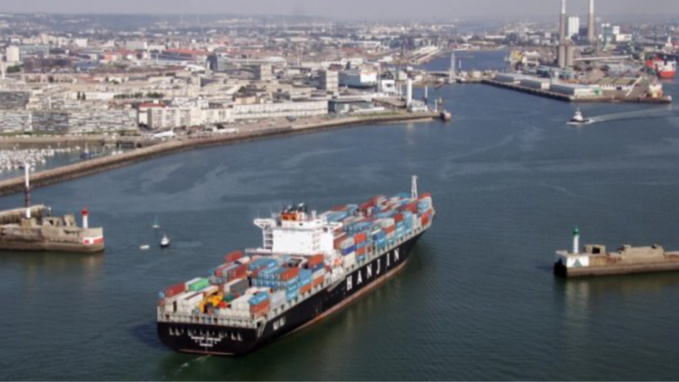 Le port du Havre (illustration@lehavre.com)