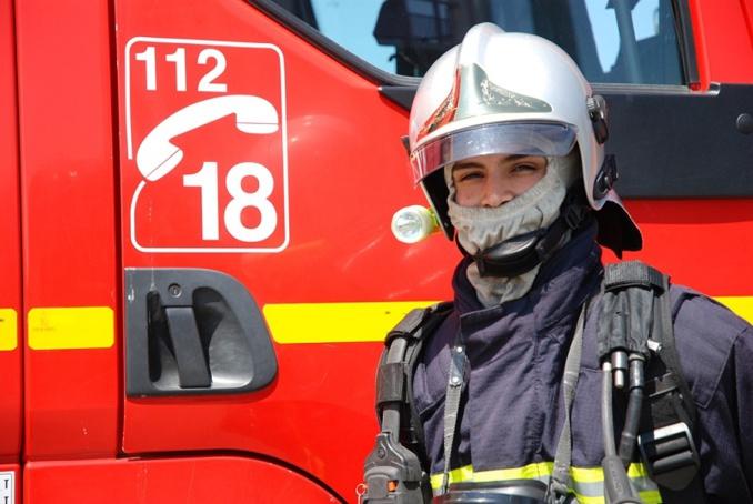 A l'arrivée des pompiers, les enfants et leurs professeurs s'étaient mis à l'abri (Illustration)