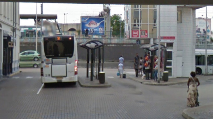 L'altercation s'est produite à la gare routière (Illustration)