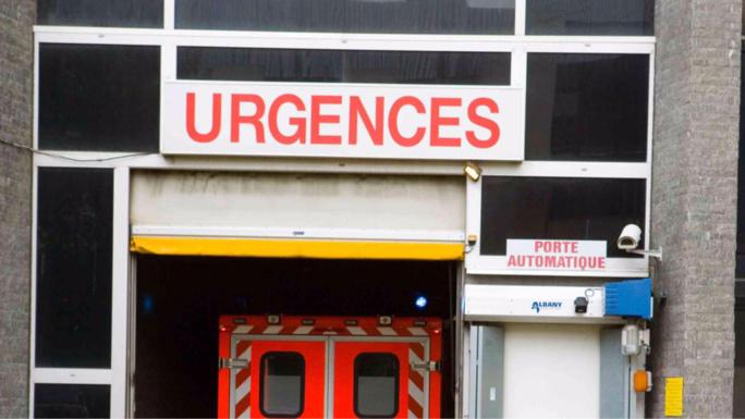 Le pilote blessé a été transporté aux urgences de l'hôpital Beaujon (illustration)