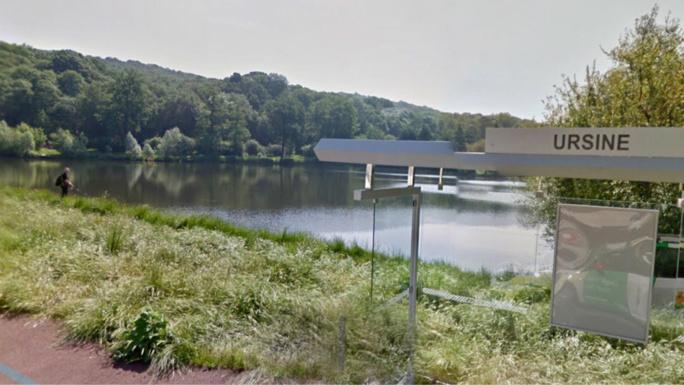La désespérée a été découverte dans l'étang de l'Ursine (illustration@Google Maps)