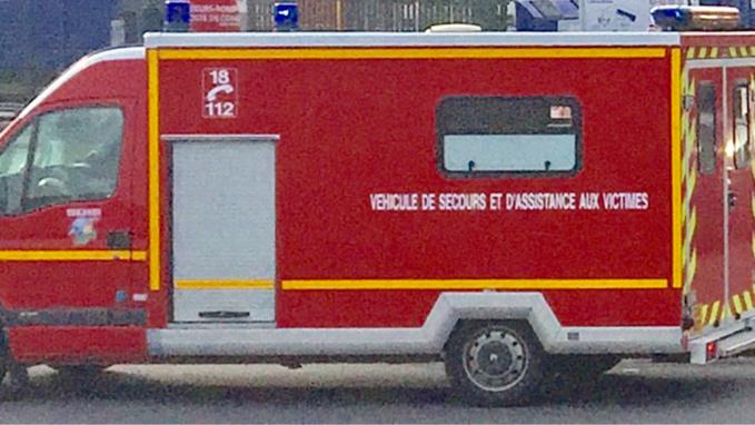 Les victimes ont été transportées à l'hôpital par les sapeurs-pompiers (Illustration©infoNormandie)