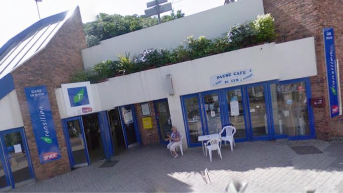 La gare de Saint-Cyr l'Ecole (Illustration)