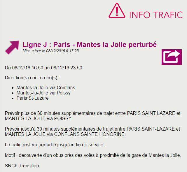 Découverte d'une bombe de 500 kg à Mantes-la-Jolie :  immeubles évacués cet après-midi