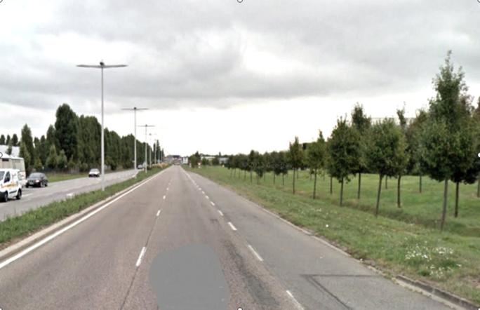 Le piéton a été fauché cette nuit sur la route de Paris à la sortie d'Evrerux (Illustration©Google Maps)