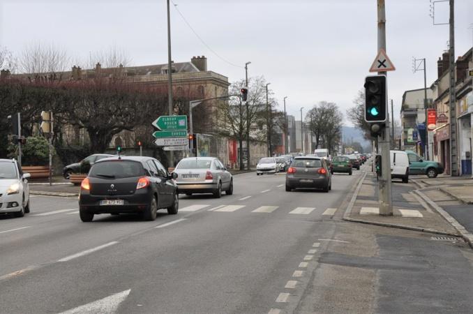 L'aménagement urbain de l'avenue de Rouen (D6015) entre Vernon et Saint-Marcel fait partie des prochains gros chantiers de l'agglomération Vernonnaise (illustration©infonormandie)