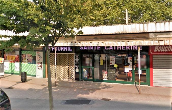 La boulangerie Le Fournil a été détruite par le feu cette nuit et sa structure menace de s'effondrer (Capture d'écran ©Google Maps 2014)