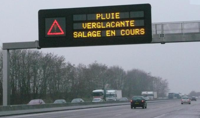 Les automobilistes sont invités à observer une extrême vigilance et à adapter leur conduite aux conditions météorologiques (Illustration©infoNormandie)