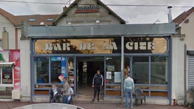 Le bar de la Cité, rue du Madrillet (illustration @GoogleMaps)