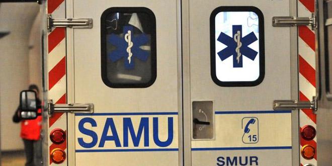 La victime a été transportée par le SAMU à l'hôpital Georges Pompidou (Illustration)
