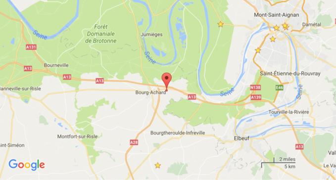 Deux morts dans un accident de la route entre une moto et une voiture ce soir dans l'Eure