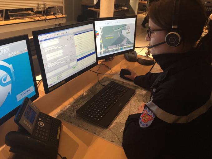 Le centre de traitement des appels du CODIS27 a reçu un millier d'appels entre hier soir et ce matin (Photo@Sdis27/Twitter)