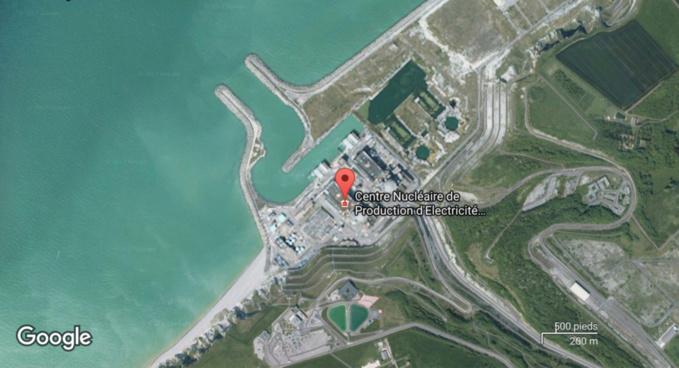 Les installations de la centrale de Penly n'ont pas été impactées par les vents violents (illustration)