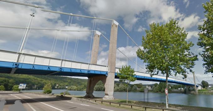 Le pont Guynemer à Elbeuf (illustration)