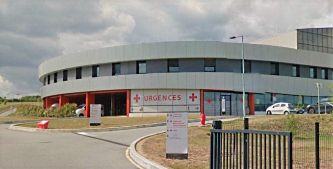 Le centre hospitalier d'Evreux (Illustration)