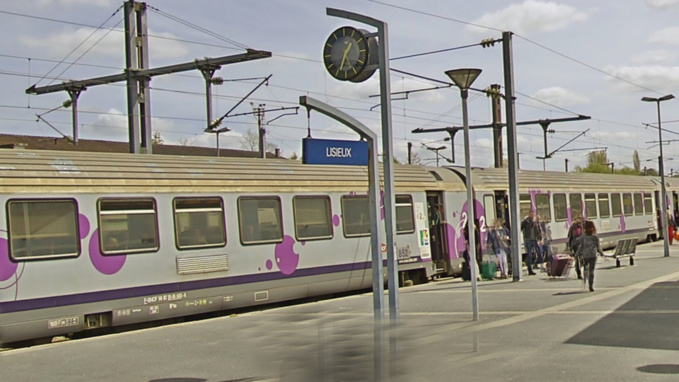 Le SDF a été contrôlé le 6 janvier dans un train à destination de Lisieux (illustration)