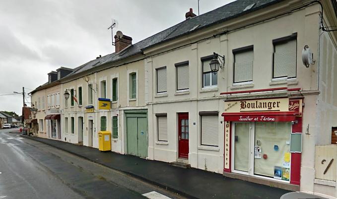 L'incendie s'est déclaré dans cette boulangerie (Illustration ©GoogleMaps/2012)
