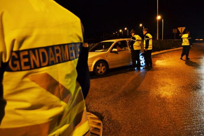Régulièrement, la gendarmerie d'Yvetot met en place des opérations de contrôles à la sortie des discothèques (Illustration)