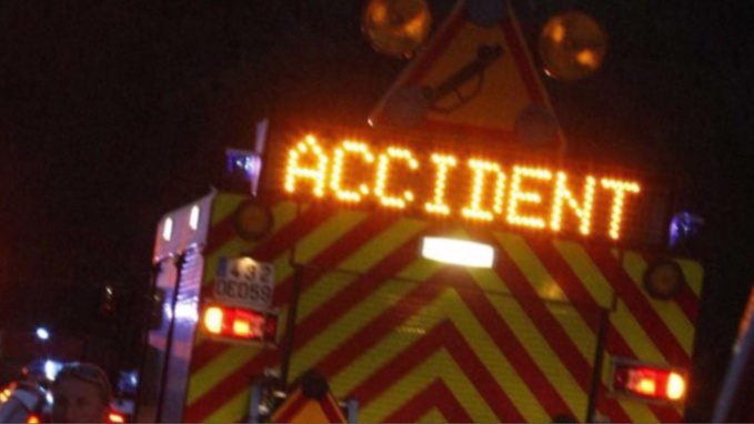 La N154 coupée à La Madeleine-de-Nonancourt (Eure) après un accident impliquant 4 véhicules