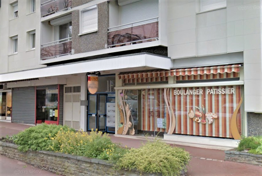 Le braqueur est passé à l'action peu avant la fermeture de la boulangerie, située au pied d'un immeuble (illustration)