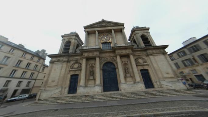 L'église Notre-Dame à Versailles