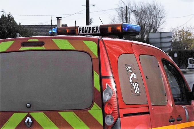La victime a été transportée à l'hôpital par les sapeurs-pompiers (Illustration©infoNormandie)