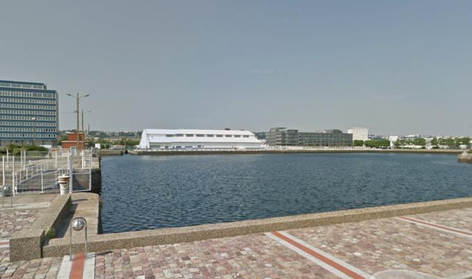 Le corps a été repêché dans le bassin de la Citadelle, près du Grand port maritime du Havre (Illustration)